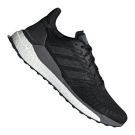 Musta Juoksukengät adidas Solar Boost 19 M EF1413