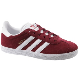 Adidas Gazelle Jr CQ2874 punaiset kengät