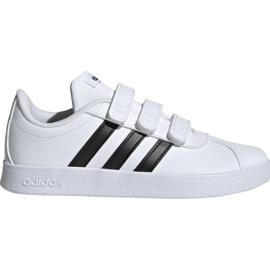 Kengät Adidas Vl Court 2.0 Cmf C valkoinen Jr. DB1837