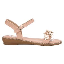 Forever Folie pinkki Sandaalit kukkia