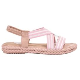 Seastar pinkki Mukavat naisten sandaalit