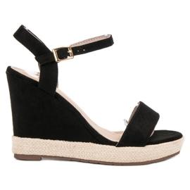 Seastar Espadrillat Musta sandaalit