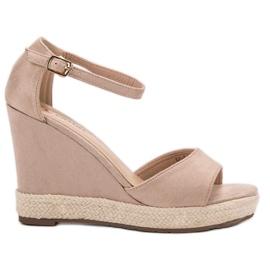 Seastar ruskea Weddered sandaalit