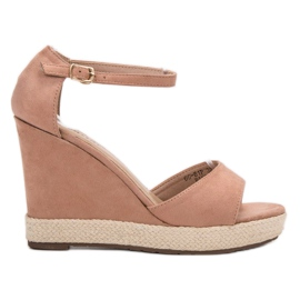 Seastar pinkki Weddered sandaalit
