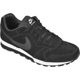 Musta Kengät Nike Sportswear Md Runner 2 Nahka Premium M 819834-001