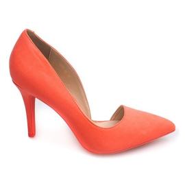 Suede Pins 4006 Orange oranssi