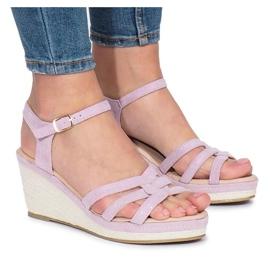 Purppura Glavel kiila sandaalit violetti