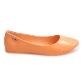 Lakattu Ballerinas 11037 Oranssi