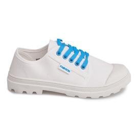 Musta Timberki Trapery Boots HC243 Valkoinen