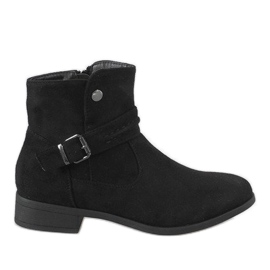 Kayla Shoes Musta saappaat JKD-52