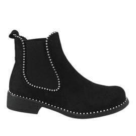 Musta eristetyt HQ960-saappaat