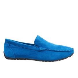Sininen Tummansiniset elegantit kengät AB07-6
