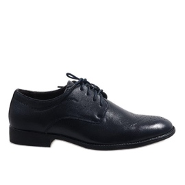 Laivasto Tummansiniset tyylikäs kengät D181502B