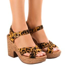 Panther-sandaalit mokkanapaan Q-62
