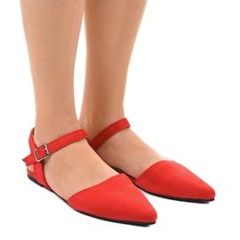 Punainen Punaiset balettikengät 235-4