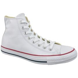 Valkoinen Converse Chuck Taylor All Star Hi Nahka At 132169C