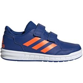 Sininen Kengät adidas Altasport Cf K laivasto oranssi Jr G27086