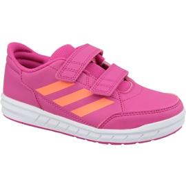 Pinkki Adidas AltaSport Cf Jr G27088 vaaleanpunaiset kengät