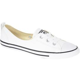 Valkoinen Kengät Converse Chuck Taylor All Star Baletti Pitsi C547167C: ssä