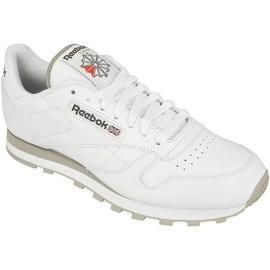 Valkoinen Reebok Classic Leather M 2214 kengät