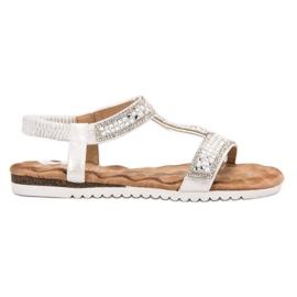 Emaks harmaa Sisustettu naisten sandaalit