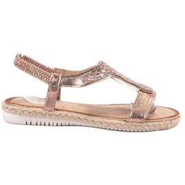 Emaks pinkki Slip Espadrillen sandaalit