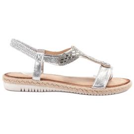 Emaks Slip Espadrillen sandaalit harmaa