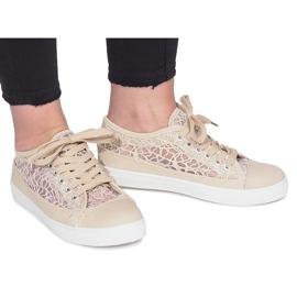 Ruskea Beige Dolita -kengät