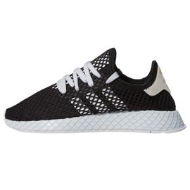 Musta Adidas Originals Deerupt Runner kengät W EE5778