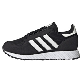 Musta Adidas Originals Forest Grove Jr EE6557 kengät