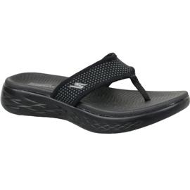 Musta Flip-flops Skechers on the go 600 W 15300-BBK