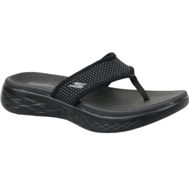 Musta Flip-flops Skechers on the go 600 W 15300-BBK