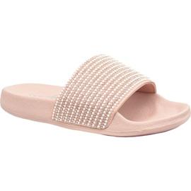 Pinkki Tossut Skechers Pop Ups 34210-LTPK
