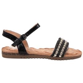 Emaks Mukavat naisten sandaalit musta