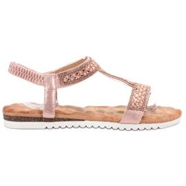 Emaks pinkki Sisustettu naisten sandaalit