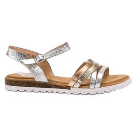 Bestelle harmaa Rento sandaalit