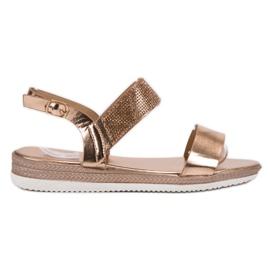 SHELOVET Casual Rose Gold sandaalit