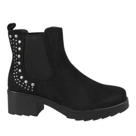 Kayla Shoes Musta eristetyt korkokengät 88048
