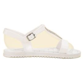 SHELOVET valkoinen Kumi sandaalit