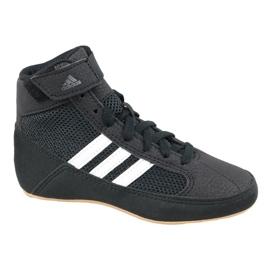 Musta Adidas Havoc K Jr AQ3327 kengät
