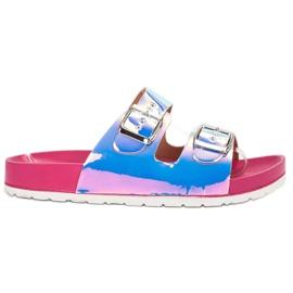 Ideal Shoes harmaa Tossut Holo-solki