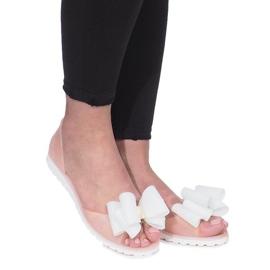Ruskea Beige Flower City meliski sandaalit