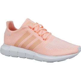 Pinkki Adidas Swift Run Jr CG6910 kengät