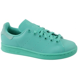 Sininen Adidas Stan Smith Adicolor Kengät W S80250