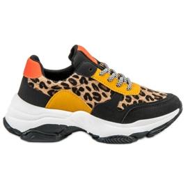 SHELOVET monivärinen Värikkäät leoparditulostuskengät