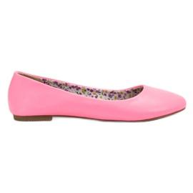 SHELOVET pinkki Casual Ballerina