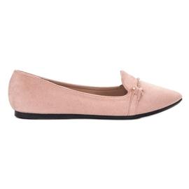 SHELOVET pinkki Ballerina In Spitz