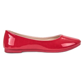 SHELOVET punainen Lakattu Ballerina