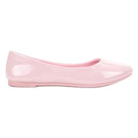 Pinkki Lakattu VICES ballerinas