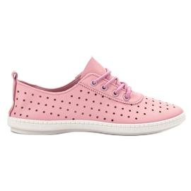 SHELOVET pinkki Avokätiset naisten tennarit